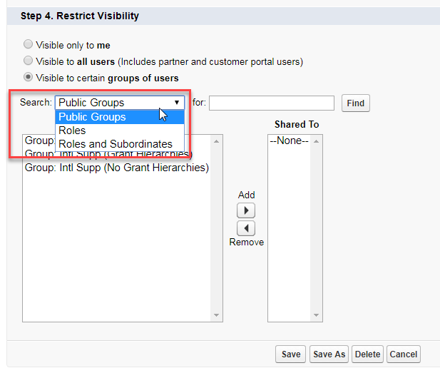 Describe How Access To List Views Documents Email Templates And